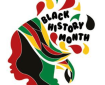 Pictured is a piece of artwork created to celebrate Black History Month.